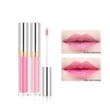 1PC Mirror Color Changing Lip Glaze Moisturizing Non-Stick Cup Waterproof Gloss Liquid Lipstick
