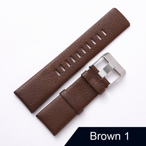 "Image 4 - חדש עיצוב שעון אביזרי שעון להקת עבור דיזל Watchbands 22 מ""מ 24 מ""מ 26 מ""מ 28 מ""מ רטרו שעון רצועה צמיד"