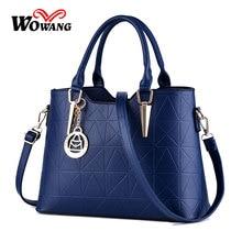 2016 New Women Leather Handbags Shoulder Bag Famous Brand Designer Women Messenger Bag Crossbody Bags Clutch Tote Bolsa Feminina