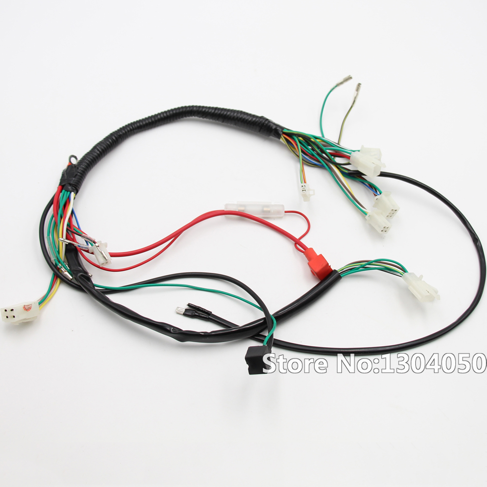 Full Electrics CDI Coil Switch Assembly Wire Harness 50cc 70cc 90cc 110cc 125cc ATV Quad Bike full electrics cdi coil switch assembly wire harness 50cc 70cc  at honlapkeszites.co