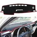 For Toyota RAV4 RAV-4 2013 2014 2015 Car Dashboard Avoid Light Pad Instrument Platform Desk Cover Mats Carpets Car Styling 1pc