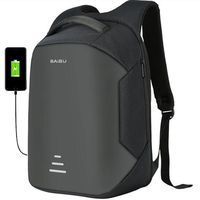 2018 NEW 15 6 Laptop Backpack Anti Theft Backpack Usb Charging Men School Notebook Bag Oxford