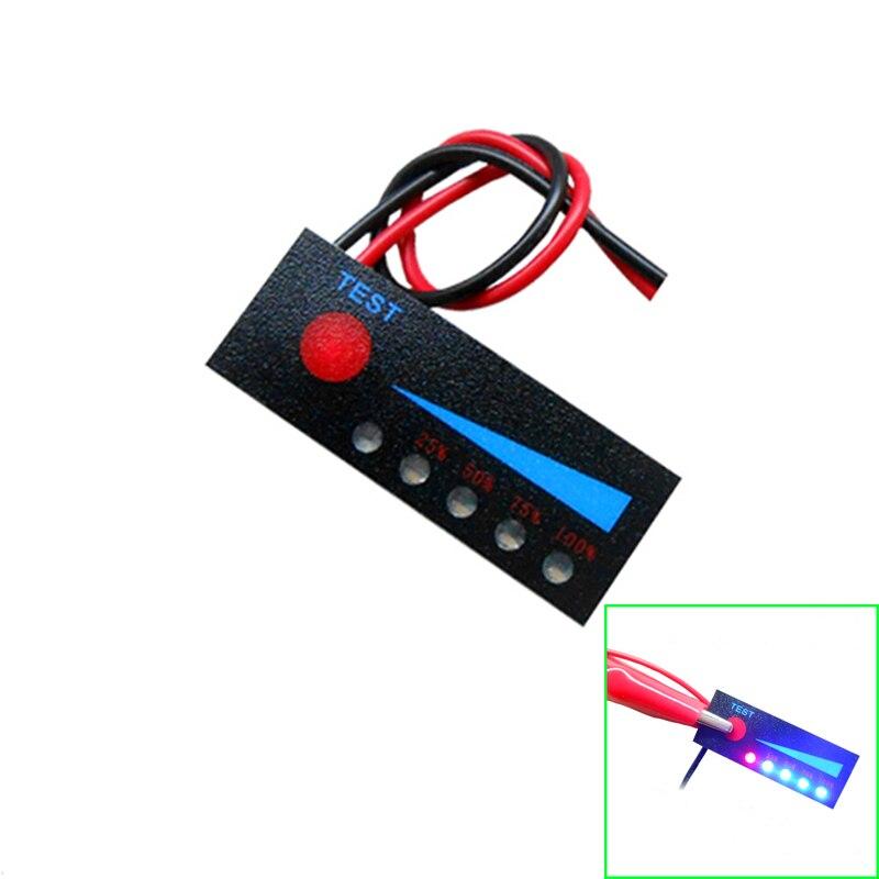 Купить со скидкой 1S 2S 3S 4S 5S 6S 7S 18650 Li-ion Lipo Lithium 12V Lead Acid Battery Level Indicator Tester LCD Disp