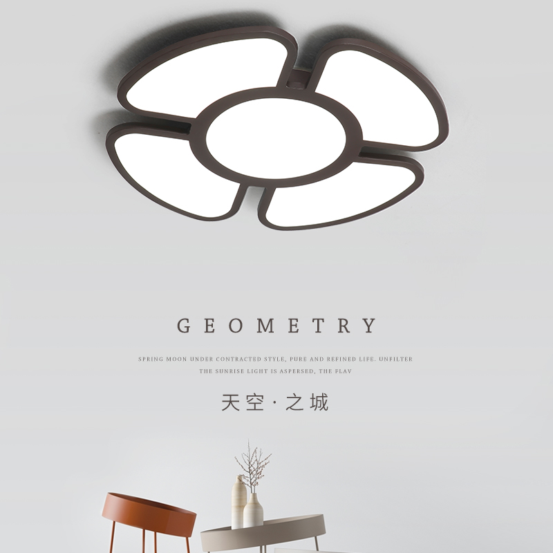 Modern Acrylic  Led Ceiling Lights For Living Room Restaurant New Modern Room White color/Coffee color Ceiling Lamp Fixtures