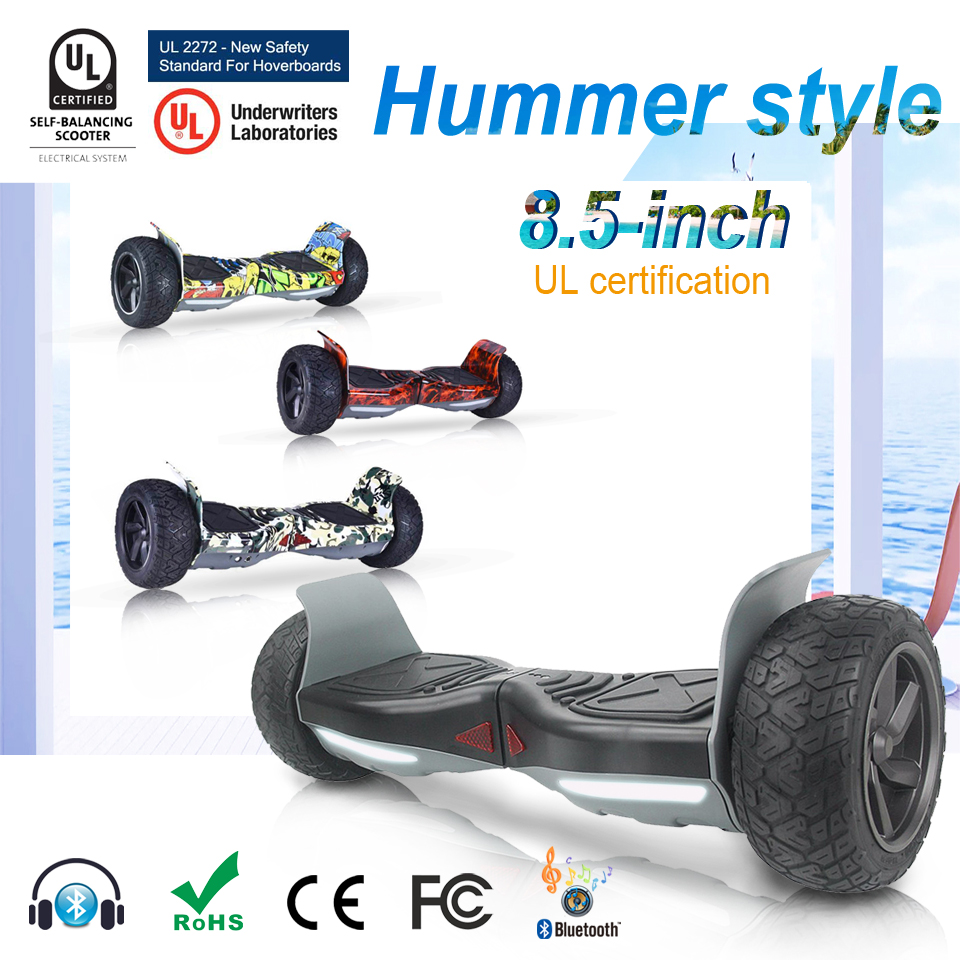 New 2017 Hummer Hoverboard 2 Wheels Electric Self Balancing Scooter Electrico Powered Walkcar Hover board France Warehouse cn ge us warehouse smartmey 6 5inch electric self balancing scooter two wheels hoverboard gyroscopic smart skateboard