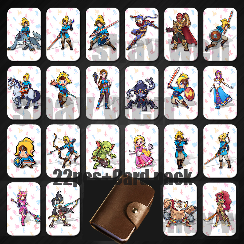 10 Pieces Odyssey Amiibo Cards Ntag215 Printed Nfc Card With Free Card Holder Access Control Security & Protection