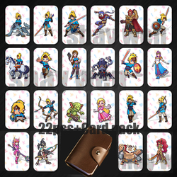 JAISATI  Breath for the Wild zelda The Games card of  Mario Botw Mipha Link Switch NFC ntag215 card  Super Odyssey