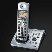 1 Auricular KX-TG1031S Teléfono Digital 1.9 GHz Telefono Inalambrico DECT 6.0 Teléfono Inalámbrico Con Contestador automático Para El Hogar