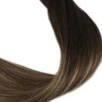 Полный блеск предварительно связаны подсказка волос Цвет 1B выцветанию Цвет 6 и 27 человеческих волос