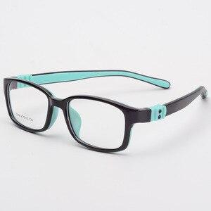 Image 3 - Bclear tr90 실리콘 안경 어린이 유연한 보호 어린이 안경 디옵터 안경 고무 어린이 스펙타클 프레임 소년 소녀