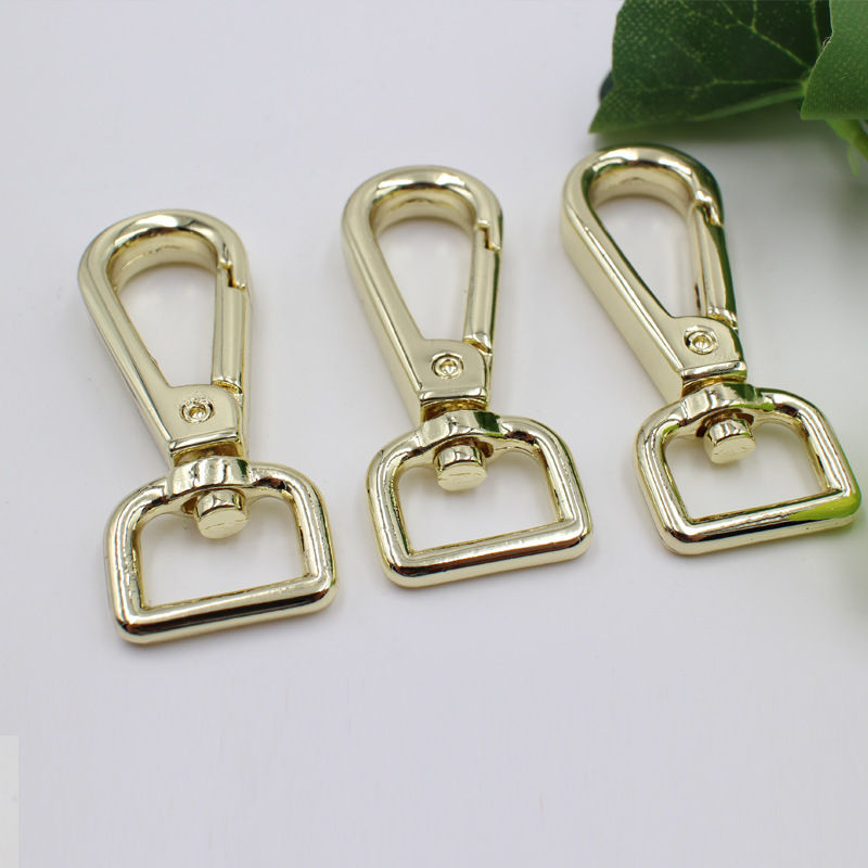 20pcs Metal Swivel Clasps Lanyard Snap Hook Lobster Claw Clasp 30mm 38mm