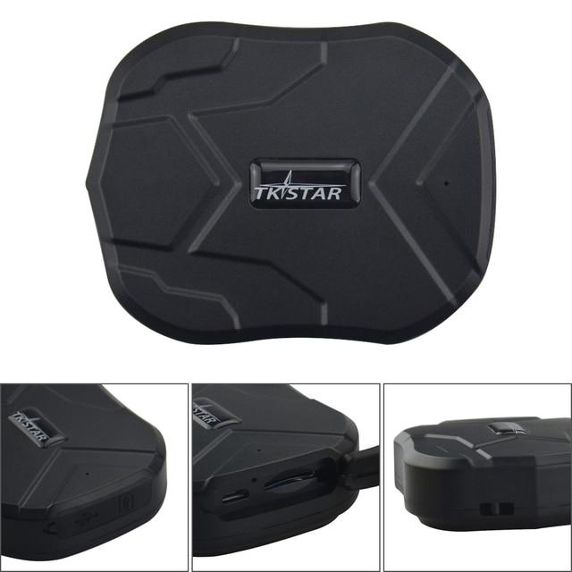 TK905 Waterproof TKSTAR Mini Hidden GPS Tracker GPS Locator for Truck Car Vehicle with Powerful Magnet Free Web APP Tracking