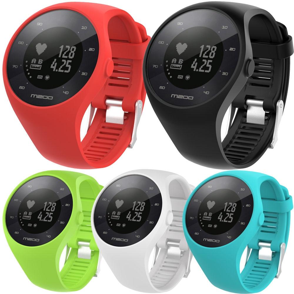 c6925745581 2018 Nieuwe Horloge Strap 20 MM Vervanging Zachte Siliconen Rubber Band  Polsband Voor Polar M200 Fitness horloge in 2018 Nieuwe Horloge Strap 20 MM  ...