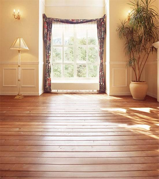 8x15ft Indoor Room Curtain Sunshine Window Lamp Wooden Floor Wedding