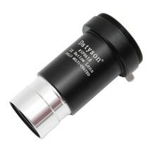 """Металлическая ахроматическая 3x линза с Барлоу, телескоп с ахроматическим покрытием, окуляр для камеры M42 1,25 """"31,7 мм, полностью покрытая зеленой пленкой линза"""
