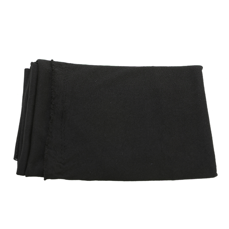 Good Quality Radio Speaker Cloth Grill Protective Stereo Black Fabric Speaker Mesh Cloth Thick 1.6mx0.5