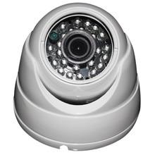 Free Shipping Cheap CMOS 960 HD1000TVL Dome CCTV Camera System Metal Casing 3.6m Lens