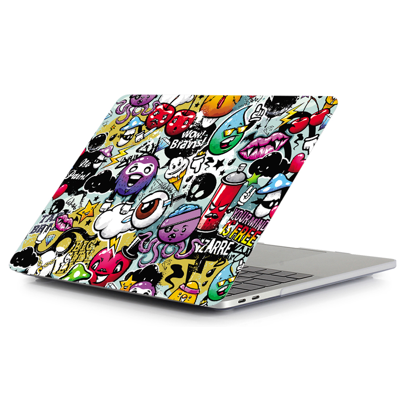 "Image 3 - MTT Graffiti Print Case For Macbook Air Pro Retina 11 12 13 15 inch With Touch Bar Laptop Bag Sleeve For macbook Air 13.3"" Cover-in Laptop Bags & Cases from Computer & Office"