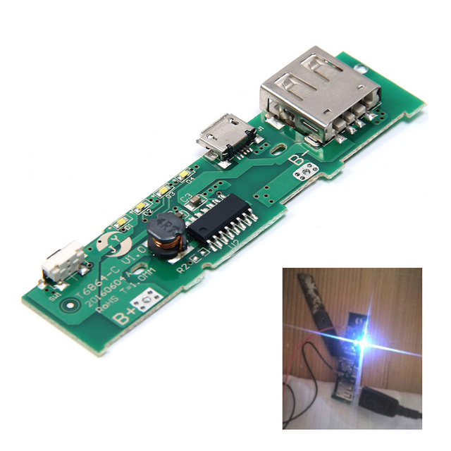 2 Power Bank Charger Boards for Mobile Phone