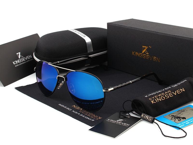 2016 New Arrival KINGSEVEN Polarized Sunglasses Men/Women Brand Designer Male vintage Sun Glasses gafas oculos de sol masculino 6