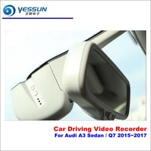 YESSUN For Audi A3 Sedan / Q7 2015~2017 Car DVR Driving Video Recorder Front Camera AUTO Dash CAM - Head Up Plug Play OEM