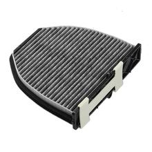 Car Air Cleaner Cooling System Activated Carbon Filters for Mercedes-Benz W204 W212 C207 2128300318  Auto supply