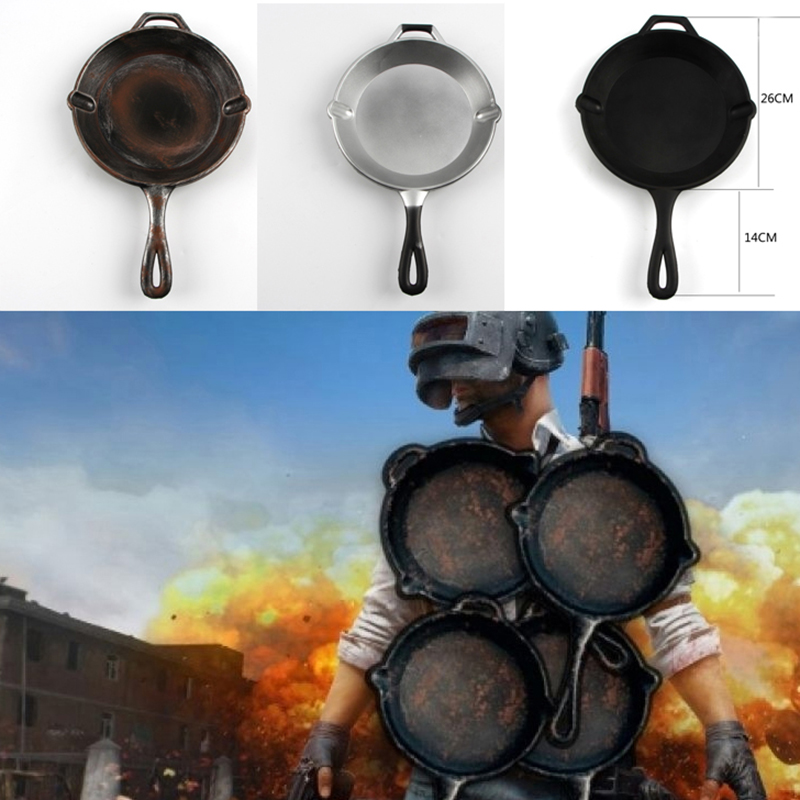 Hot Game Cosplay PUBG Weapon Playerunknown's Battlegrounds Cosplay Weapons PU Foam Pan 1:1 Replica Game Cosplay Props