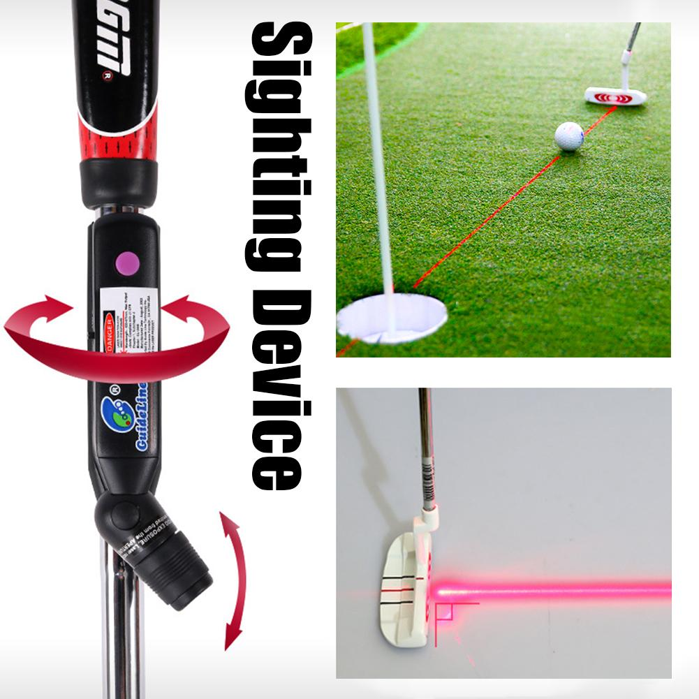Golf Pointer Line Putting Trainer Sight Indoor Golf Teaching Putter Aiming Practice Aid