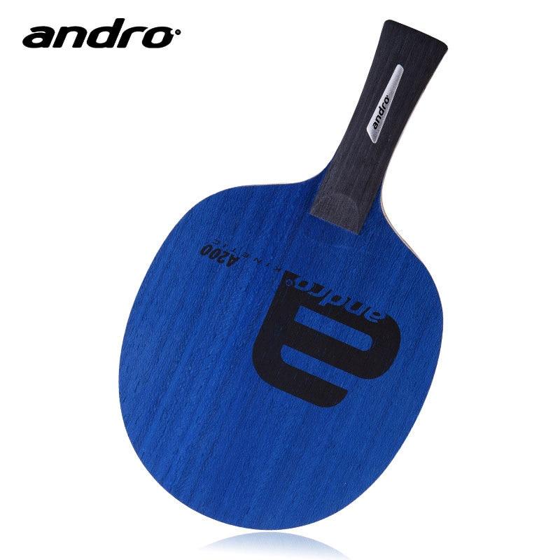 アンドロ卓球ラケット A200 5 プライピュアウッドオールラウンドブレードピンポンバットパドル  グループ上の スポーツ & エンターテイメント からの 卓球ラケット の中 1