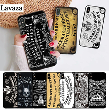 Lavaza Ouija Board Luxury Coque Silicone Case for iPhone 5 5S 6 6S Plus 7 8 11 Pro X XS Max XR цены