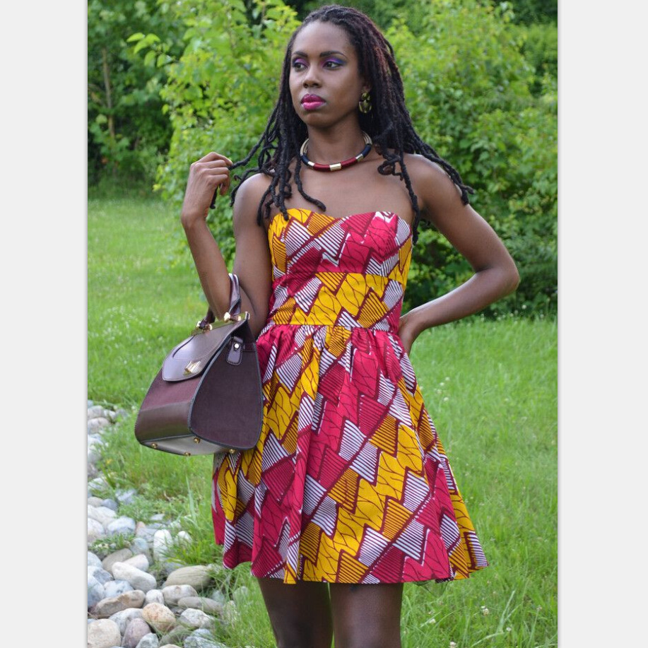 2019 New Elegent Fashion Style African Women Dress