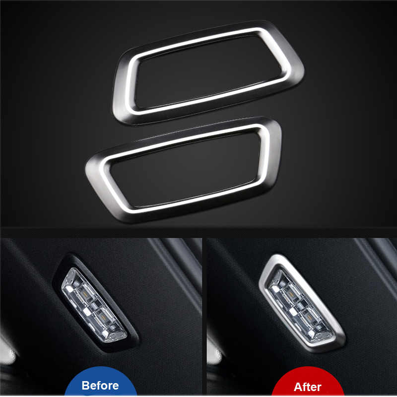 Detail Feedback Questions about Car Rear Metal Trunk Lamp Trim