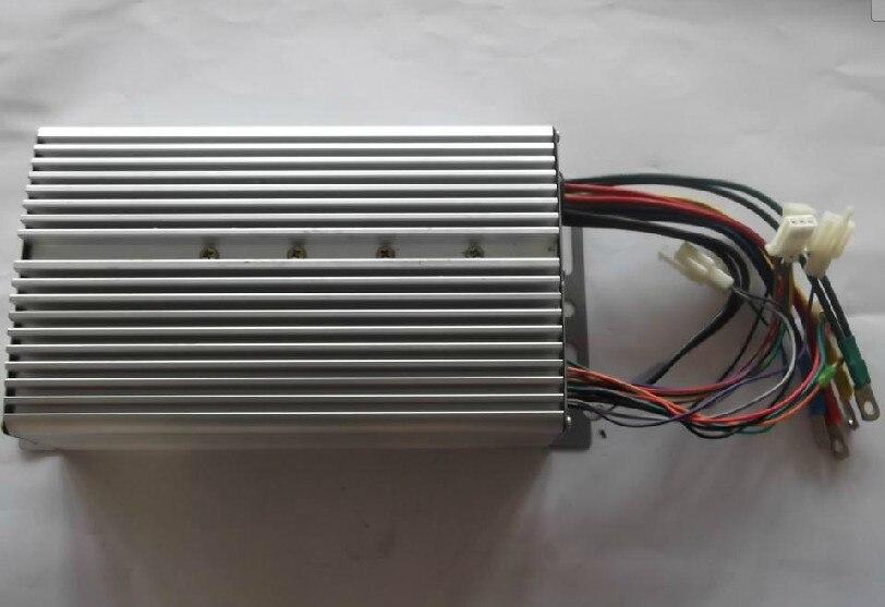 1200 W 60 V puissance 24 MOFSET contrôleur de vitesse de moteur sans brosse, contrôleur de moteur BLDC/Ebike/e-scooter/EV contrôleur de vitesse