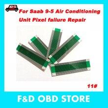 Для SAAB 9-5 Кондиционер Блок dead повреждение пикселей ремонт запасной ленточный кабель для Saab 9-5 ac плоский кабель 10 шт