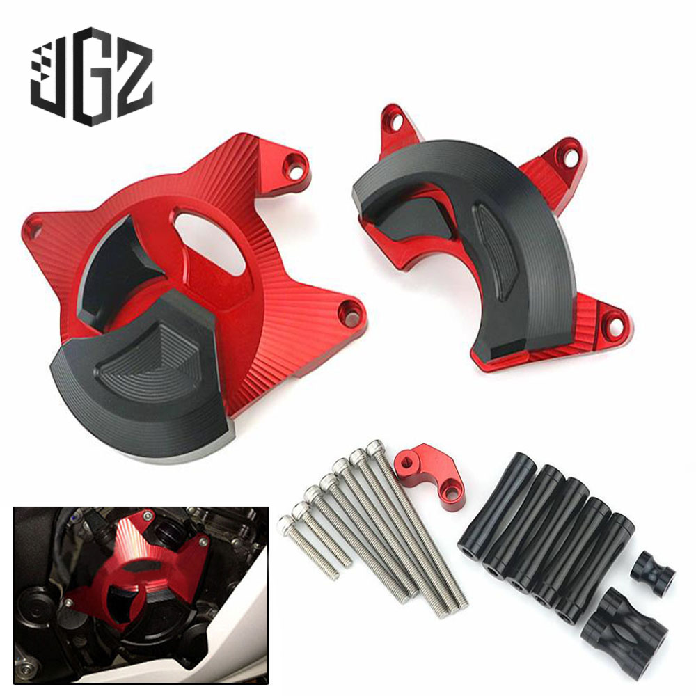 Motorcycle CNC Aluminum Engine Guard Left Right Side Cover Crash Protectors Shield for HONDA CB300R 2015
