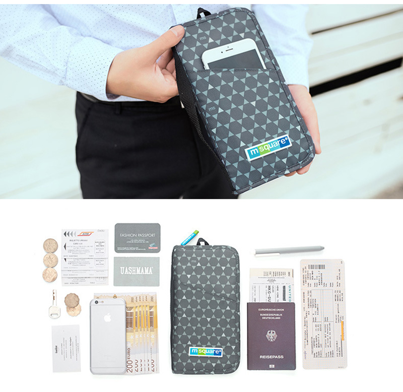 Women Men Passport Cover Travel RFID Credit Card Holder Flight Bit License Organizer Document Wallet Protective Sleeve PC0064 (9)