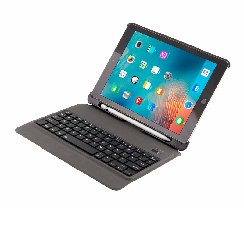 Ultra Thin Wireless Bluetooth Keyboard Stand Leather Protective Case Cover for iPad 9.7 2018 Air 1/2 Pro 9.7 with Pencil Holder стоимость