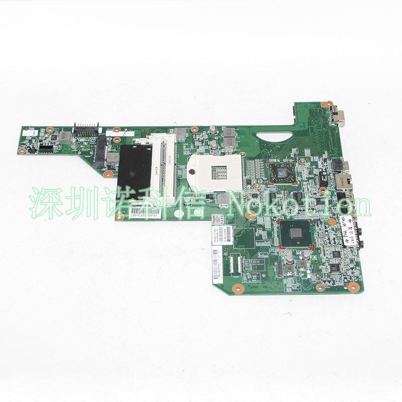 NOKOTION LAPTOP MOTHERBOARD para HP G62 G72 placa principal 605902-001 HM55 com gráficos DDR3