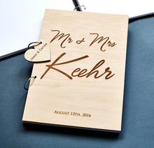 Заказ Свадебного гостевая книга, персонализированные Начальная Гостевая Книга, свадьба гостевая книга, деревянный знак книги, гравированные гостевая книга