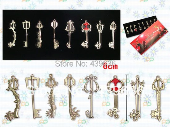 Kingdom hearts gold key weapon set keyblade pendant 8 sword key kingdom hearts gold key weapon set keyblade pendant 8 sword key blades men women cosplay jewelry in charms from jewelry accessories on aliexpress aloadofball Choice Image