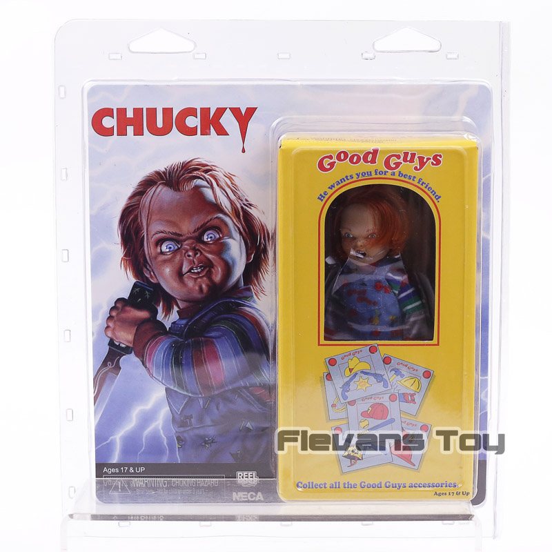 NECA Good Guys Childs Play Chucky PVC Action Figure Movie & TV Toys elsadou neca chucky action figurs child s play doll with retail box 15cm