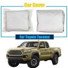 Cawanerl крышка автомобиля грузовик Открытый Anti UV ВС Дождь Снег Устойчив Защитная крышка от солнца пыле для Toyota Tacoma