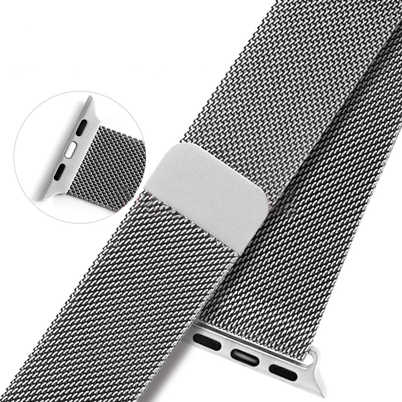 apple watch band Stainless Steel Strap watchband magnet lock Watch Bands for Apple Watch Milanese loop Band for iwatch 38/42mm