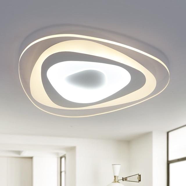בלתי רגיל אקריליק דקה מודרני led אורות תקרה לסלון בית חדר שינה מנורת תקרת PA-44