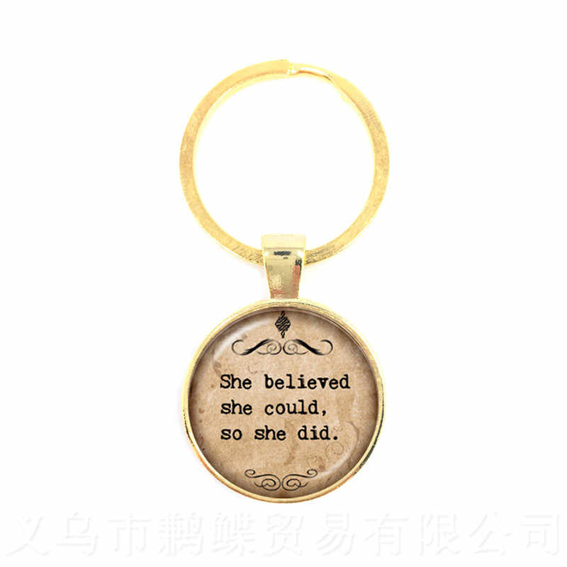 """""""My Beloved Is Mine And I Am His""""Proverbs Keychains Gift For Lover Friends Motivating People Famous Aphorism Keyring"""
