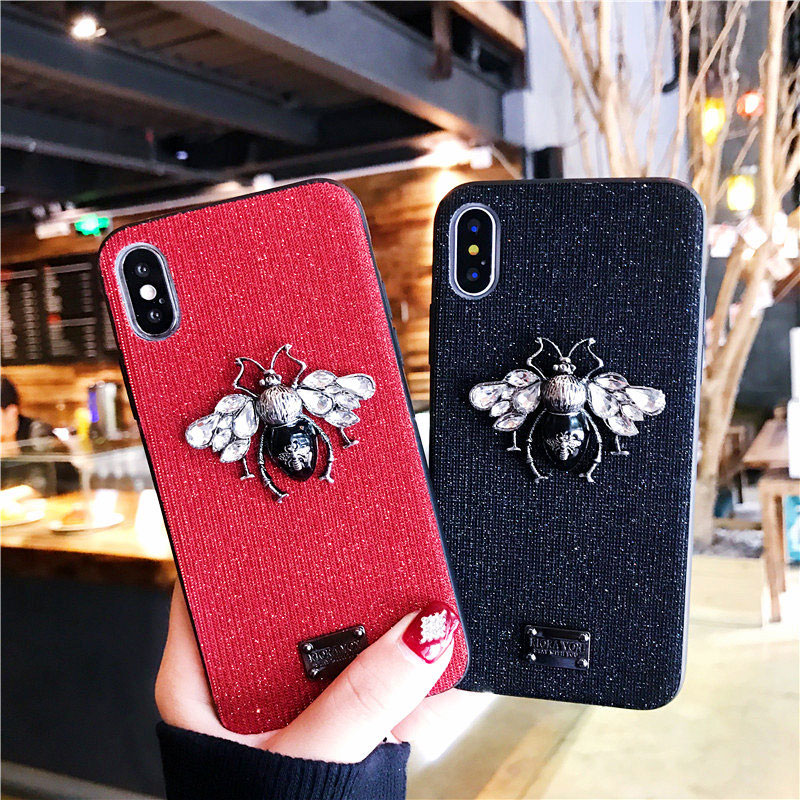bling bling luxury cute iphone 6 6s 7 8 plus x xr xs max case  (13)
