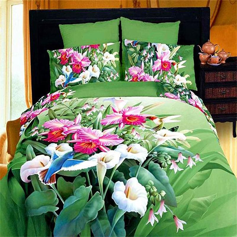 Online Buy Wholesale green comforter sets from China green
