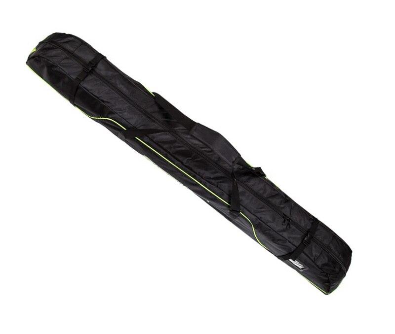 Pack de bâtons de Ski bottes de neige casque Portable porter épaule sac à main pour Double Snowboard imperméable Oxford housse 165 cm 175 cm - 5
