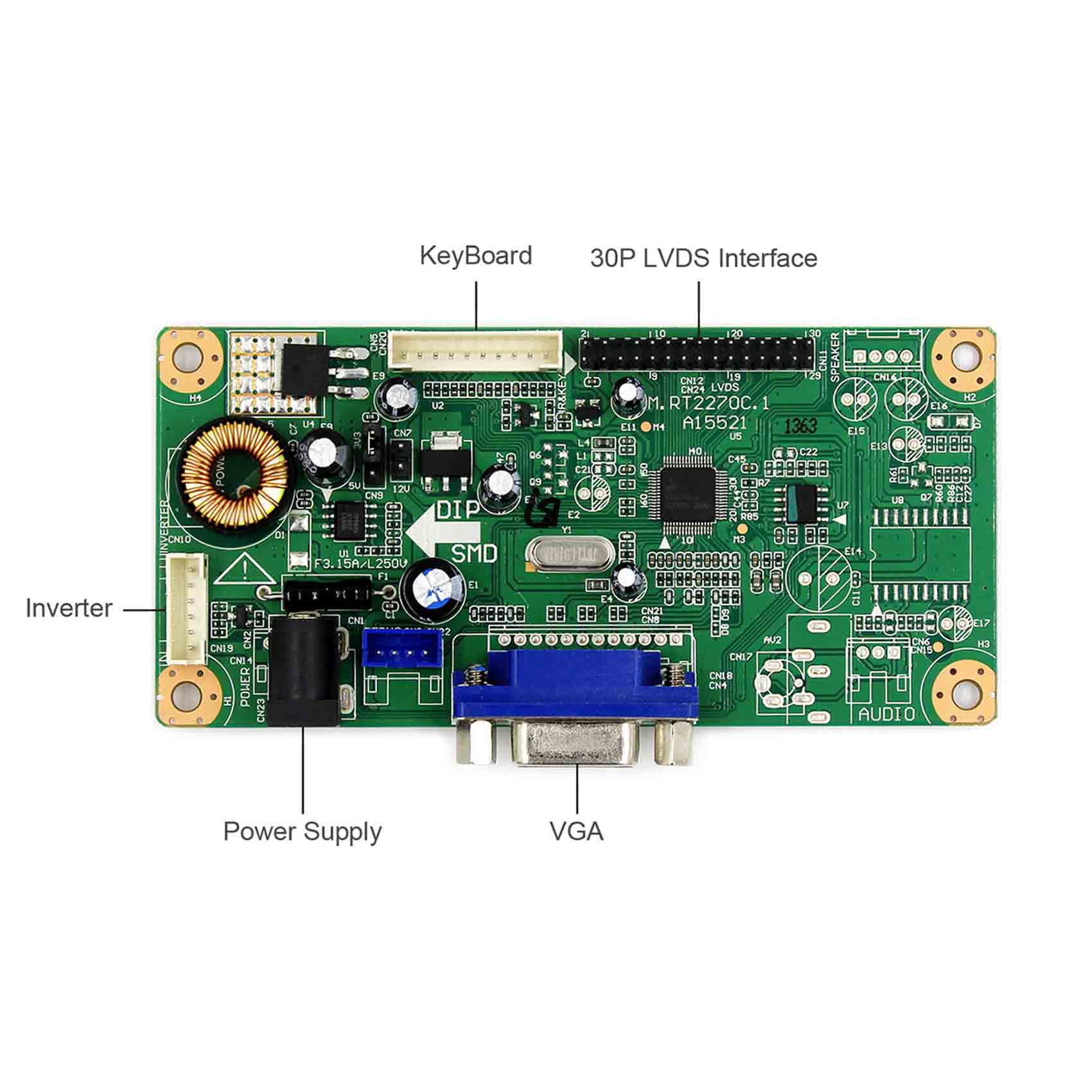"19""  1280�1024 G190ETN01.0 work with HDMI /VGA /DVI /Audio controller board"