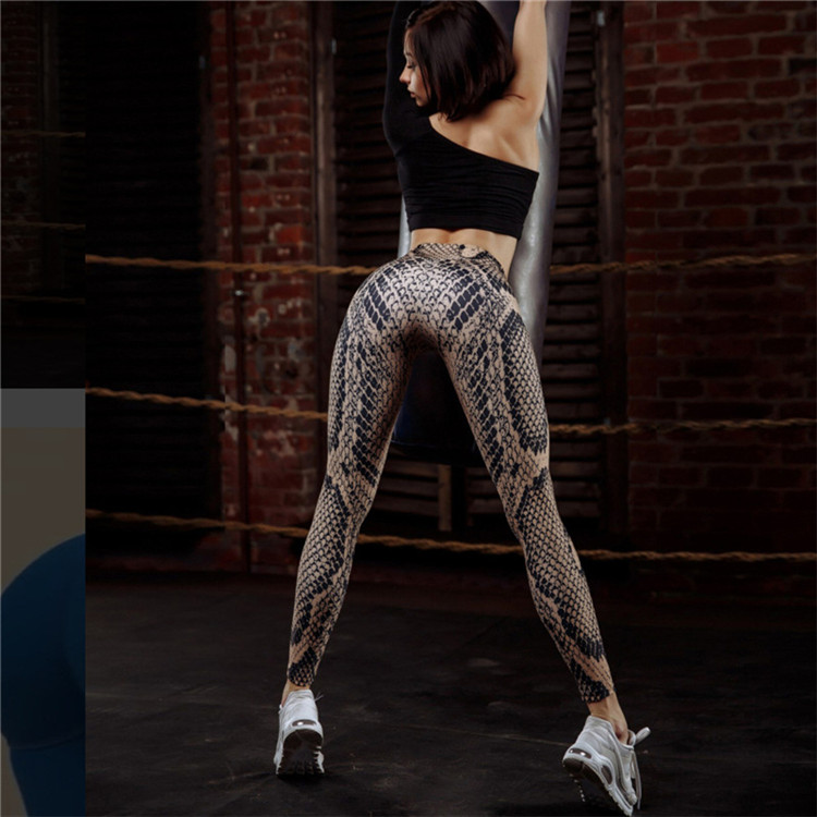 Pants & Capris Bottoms New Trendy Women Snake Print Pants Sexy Mid Waist Zippers Long Loose Flare Pants High Quality Pantalon Trompeta Serpiente @40 Cheapest Price From Our Site